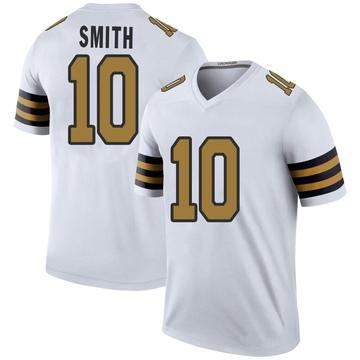Men's New Orleans Saints Tre'Quan Smith White Color Rush Jersey - Legend