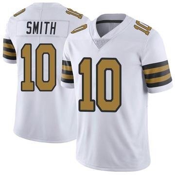 Men's New Orleans Saints Tre'Quan Smith White Color Rush Jersey - Limited