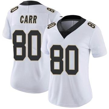 Women's Nike New Orleans Saints Austin Carr White Vapor Untouchable Jersey - Limited