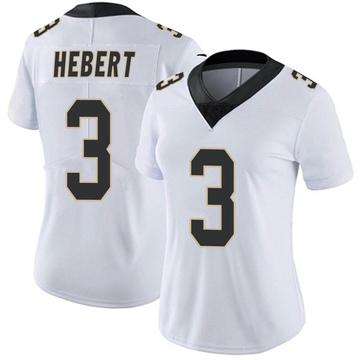 Women's Nike New Orleans Saints Bobby Hebert White Vapor Untouchable Jersey - Limited