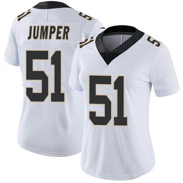Women's Nike New Orleans Saints Colton Jumper White Vapor Untouchable Jersey - Limited