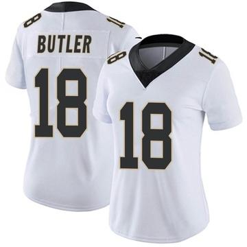 Women's Nike New Orleans Saints Emmanuel Butler White Vapor Untouchable Jersey - Limited