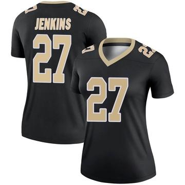 Women's Nike New Orleans Saints Malcolm Jenkins Black Jersey - Legend
