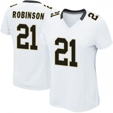 Women's Nike New Orleans Saints Patrick Robinson White Jersey - Game