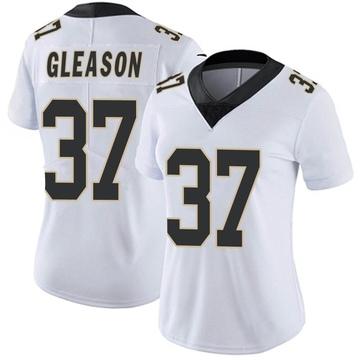 Women's Nike New Orleans Saints Steve Gleason White Vapor Untouchable Jersey - Limited