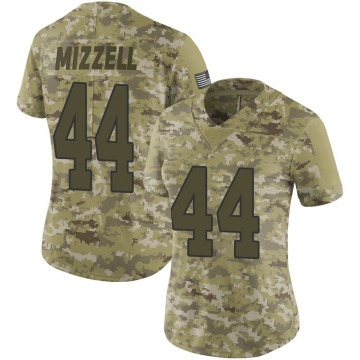 Women's Nike New Orleans Saints Taquan Mizzell Camo 2018 Salute to Service Jersey - Limited