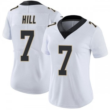 Women's Nike New Orleans Saints Taysom Hill White Vapor Untouchable Jersey - Limited