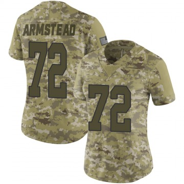 Women's Nike New Orleans Saints Terron Armstead Camo 2018 Salute to Service Jersey - Limited