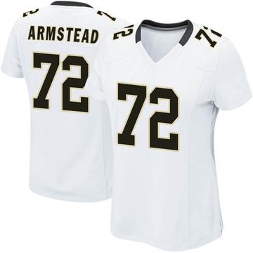 Women's Nike New Orleans Saints Terron Armstead White Jersey - Game