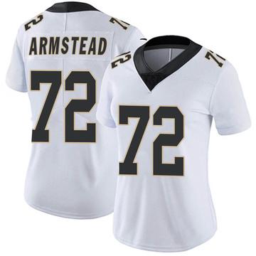 Women's Nike New Orleans Saints Terron Armstead White Vapor Untouchable Jersey - Limited