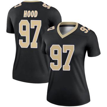 Women's Nike New Orleans Saints Ziggy Hood Black Jersey - Legend