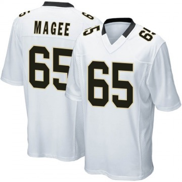 Youth Nike New Orleans Saints Adrian Magee White Jersey - Game