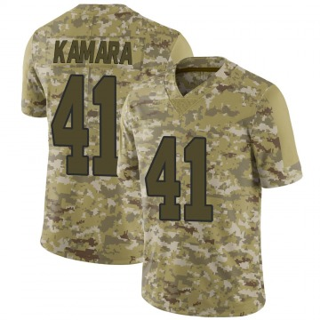 Youth Nike New Orleans Saints Alvin Kamara Camo 2018 Salute to Service Jersey - Limited