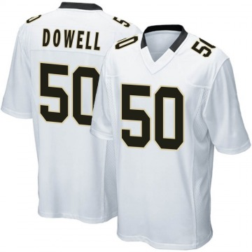 Youth Nike New Orleans Saints Andrew Dowell White Jersey - Game