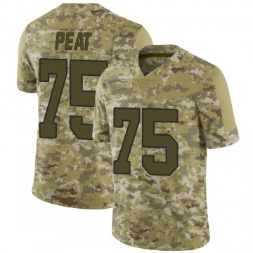 Youth Nike New Orleans Saints Andrus Peat Camo 2018 Salute to Service Jersey - Limited