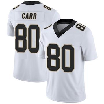 Youth Nike New Orleans Saints Austin Carr White Vapor Untouchable Jersey - Limited