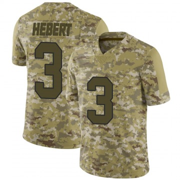Youth Nike New Orleans Saints Bobby Hebert Camo 2018 Salute to Service Jersey - Limited