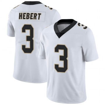 Youth Nike New Orleans Saints Bobby Hebert White Vapor Untouchable Jersey - Limited