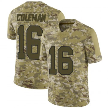 Youth Nike New Orleans Saints Brandon Coleman Camo 2018 Salute to Service Jersey - Limited
