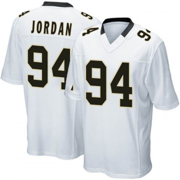 Youth Nike New Orleans Saints Cameron Jordan White Jersey - Game