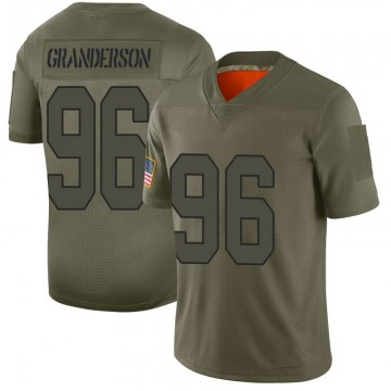 Youth Nike New Orleans Saints Carl Granderson Camo 2019 Salute to Service Jersey - Limited