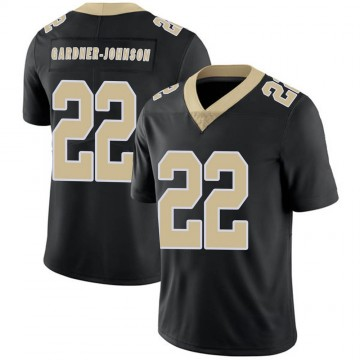 Youth Nike New Orleans Saints Chauncey Gardner-Johnson Black Team Color Vapor Untouchable Jersey - Limited