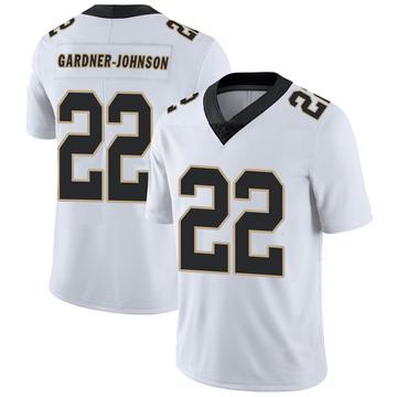 Youth Nike New Orleans Saints Chauncey Gardner-Johnson White Vapor Untouchable Jersey - Limited