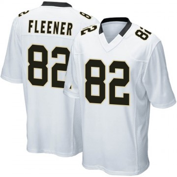 Youth Nike New Orleans Saints Coby Fleener White Jersey - Game