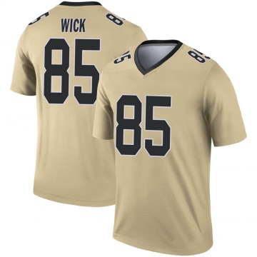 Youth Nike New Orleans Saints Cole Wick Gold Inverted Jersey - Legend