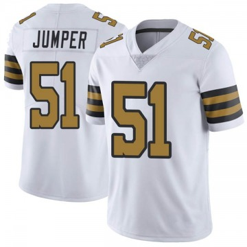 Youth Nike New Orleans Saints Colton Jumper White Color Rush Jersey - Limited