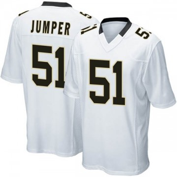 Youth Nike New Orleans Saints Colton Jumper White Jersey - Game