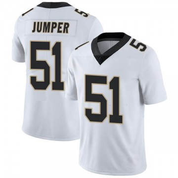 Youth Nike New Orleans Saints Colton Jumper White Vapor Untouchable Jersey - Limited