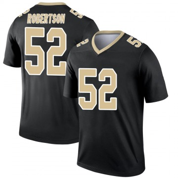 Youth Nike New Orleans Saints Craig Robertson Black Jersey - Legend