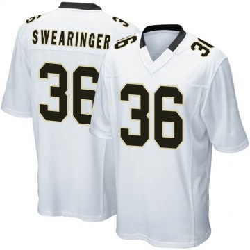 Youth Nike New Orleans Saints D.J. Swearinger White Jersey - Game
