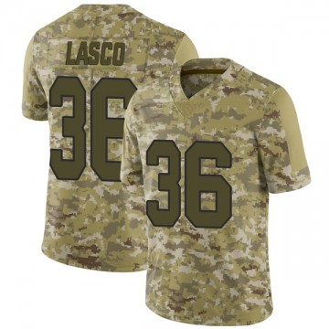 Youth Nike New Orleans Saints Daniel Lasco Camo 2018 Salute to Service Jersey - Limited