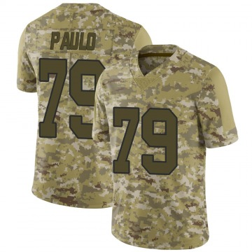 Youth Nike New Orleans Saints Darrin Paulo Camo 2018 Salute to Service Jersey - Limited