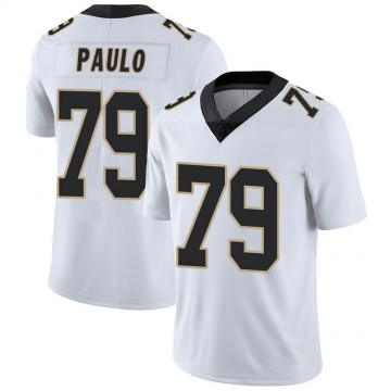 Youth Nike New Orleans Saints Darrin Paulo White Vapor Untouchable Jersey - Limited