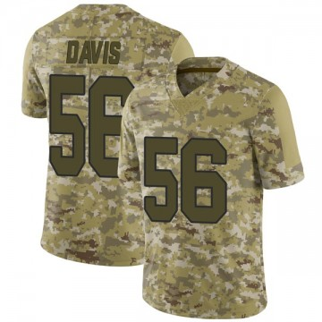 Youth Nike New Orleans Saints Demario Davis Camo 2018 Salute to Service Jersey - Limited