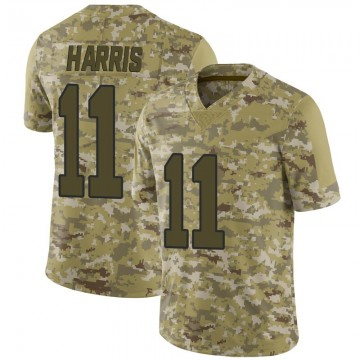 Youth Nike New Orleans Saints Deonte Harris Camo 2018 Salute to Service Jersey - Limited