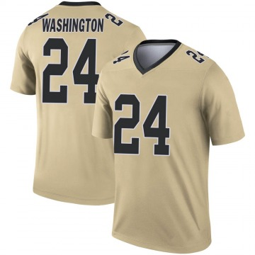 Youth Nike New Orleans Saints Dwayne Washington Gold Inverted Jersey - Legend