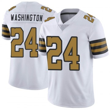 Youth Nike New Orleans Saints Dwayne Washington White Color Rush Jersey - Limited