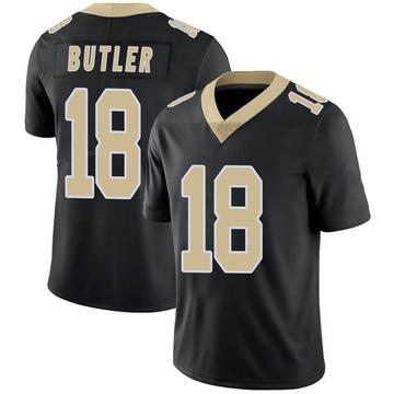 Youth Nike New Orleans Saints Emmanuel Butler Black Team Color 100th Vapor Untouchable Jersey - Limited