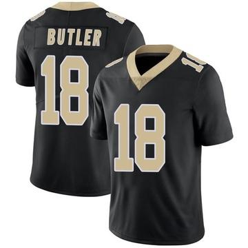 Youth Nike New Orleans Saints Emmanuel Butler Black Team Color Vapor Untouchable Jersey - Limited