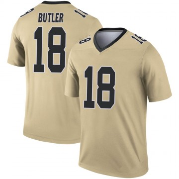 Youth Nike New Orleans Saints Emmanuel Butler Gold Inverted Jersey - Legend