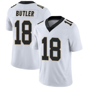 Youth Nike New Orleans Saints Emmanuel Butler White Vapor Untouchable Jersey - Limited
