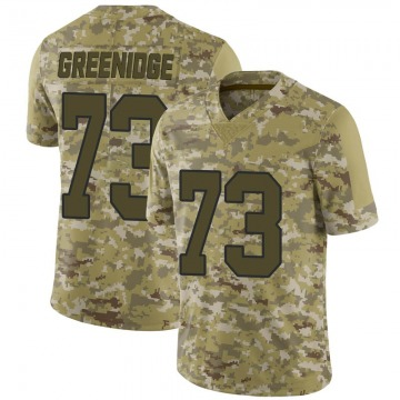 Youth Nike New Orleans Saints Ethan Greenidge Green Camo 2018 Salute to Service Jersey - Limited