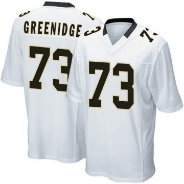 Youth Nike New Orleans Saints Ethan Greenidge White Jersey - Game