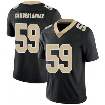 Youth Nike New Orleans Saints Gus Cumberlander Black Team Color 100th Vapor Untouchable Jersey - Limited