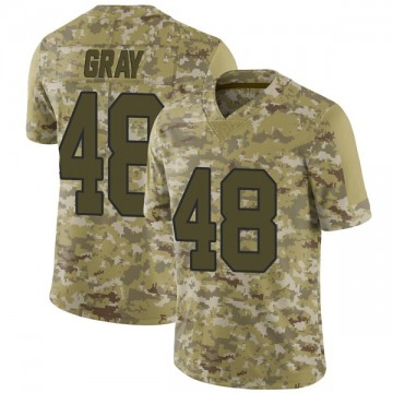 Youth Nike New Orleans Saints J.T. Gray Camo 2018 Salute to Service Jersey - Limited