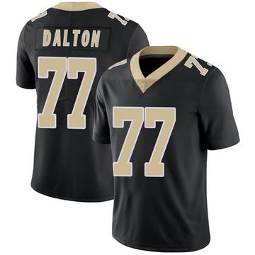 Youth Nike New Orleans Saints Jalen Dalton Black Team Color Vapor Untouchable Jersey - Limited
